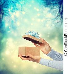Happy Gift Box Presentation