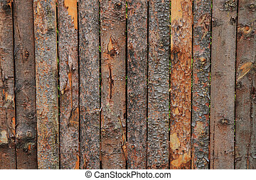 wooden bark background - old wooden and bark texture as nice...