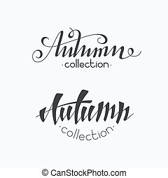 Hand written inscriptions - Isolated hand written...