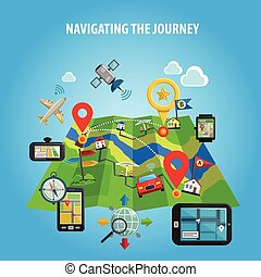 Navigating The Journey Concept