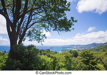 PHUKET, THAILAND-AUGUST 29, 2015 karon view point, we can...