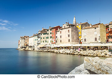 Beautiful historic Rovinj, Croatia, Europe