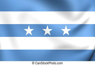 Flag of Guayaquil, Ecuador. - 3D Flag of Guayaquil, Ecuador....