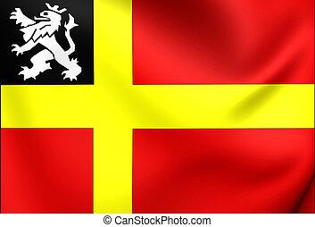 Flag of Utrechtse Heuvelrug Utrecht, Netherlands - 3D Flag...