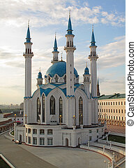 The Kul Sharif mosque, Kazan , Russia - The Kul Sharif...