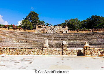 Amphitheatre in Altos de Chavon - Amphitheater in the artist...