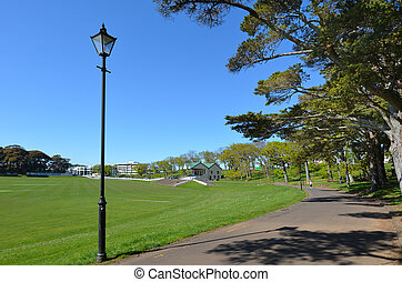 Auckland Domain - New Zealand - AUCKLAND, NZL - SEP 28...