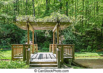 Arbor Over Dock