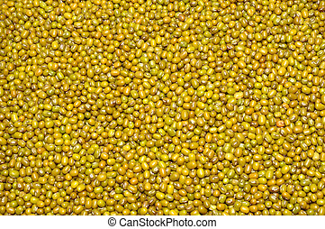 Dried Mung Beans Background
