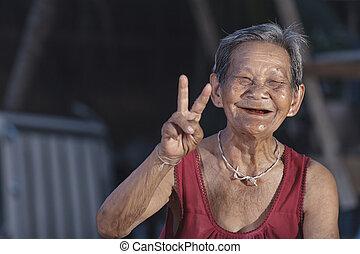 Elderly people in thailand
