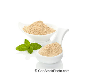 Maca powder.