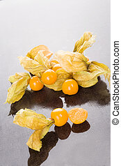 Physalis background. - Physalic background. Delicious...