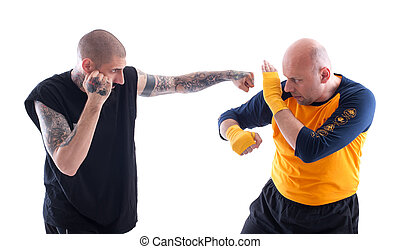 Sparring Training - KAPAP Self Defence System