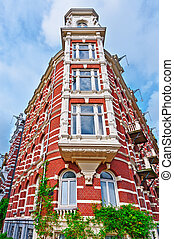 Flemish Facade - The Flemish Facade in the Dutch City of...