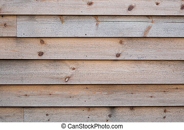 Wood paneling - Weathered, natural softwood wall texture,...