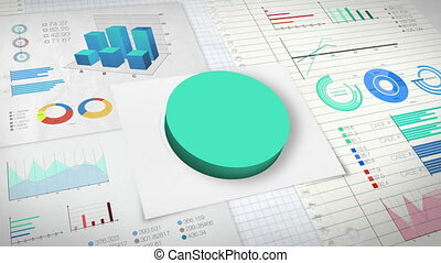 50 percent Pie chart 2 (no text) - 50 percent Pie chart with...