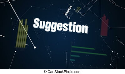 Text animation 'Solutions' - Research, Suggestion,...