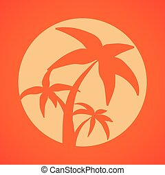 Sumer time design - Summer time concept and travel icons...