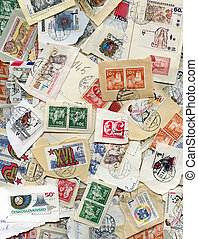 postage stamps - nice postage stamps from the czech republic...