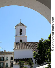 Buildings in Nerja, Andalusia, Spain It is on the country...