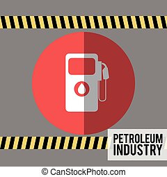 petroleum industry design, vector illustration eps10 graphic...