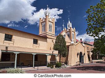 Church of San Felipe in Albuquerque, New Mexico - Historical...