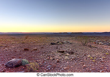 Fish River Canyon - Namibia, Africa - Fish River Canyon in...