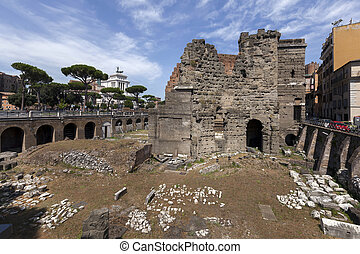 Forum of Augustus in Rome, Italy - The Forum was built to...