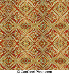 Abstract Seamless Brick Tile Pattern