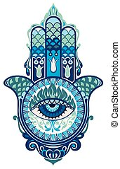 Hamsa hand - Decorative hand