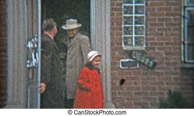 1953: Gangster fashion dressed up - Original vintage 8mm...
