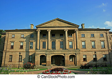 Province House - Historical Province House in Prince Edward...
