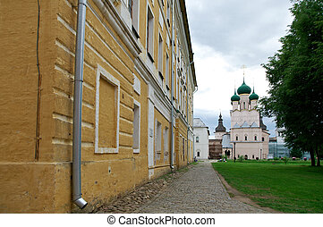 Rostov Kremlin - Kremlin of ancient town of Rostov...