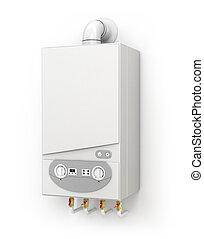 Boiler, space heating
