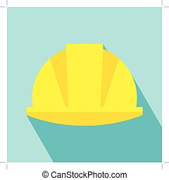 Construction Helmet Icon. Hard Hat Icon. Helmet Builder...