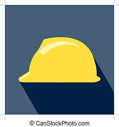 Construction Helmet Icon Hard Hat Icon Helmet Builder Icon...