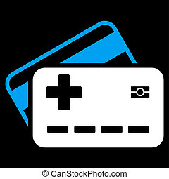 Medical Insurance Cards Icon - Medical Insurance Cards...
