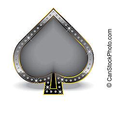 黑桃, 鑽石