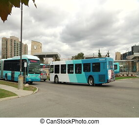 Bus station - Richmond Hill, Ontario, Canada