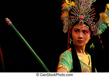 china opera Iron Fan Princess