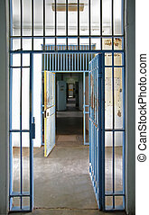 prison cell - great image inside an old prison