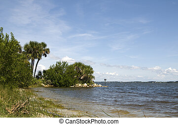 Nature Landscape on Indian River