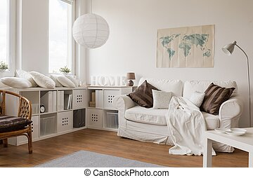 Spacious light living room - Picture of spacious light...