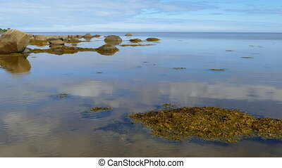 Northern White Sea in Karelia, Russia