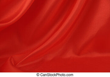 Red silk background 2