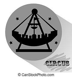 circus entertainment design, vector illustration eps10...