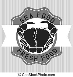 sea food design, vector illustration eps10 graphic
