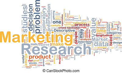 Marketing research background concept - Background concept...