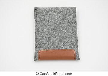 Velvet bag, pouch for external hard disk