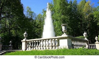 St Petersburg-Peterhof Fountains and statues